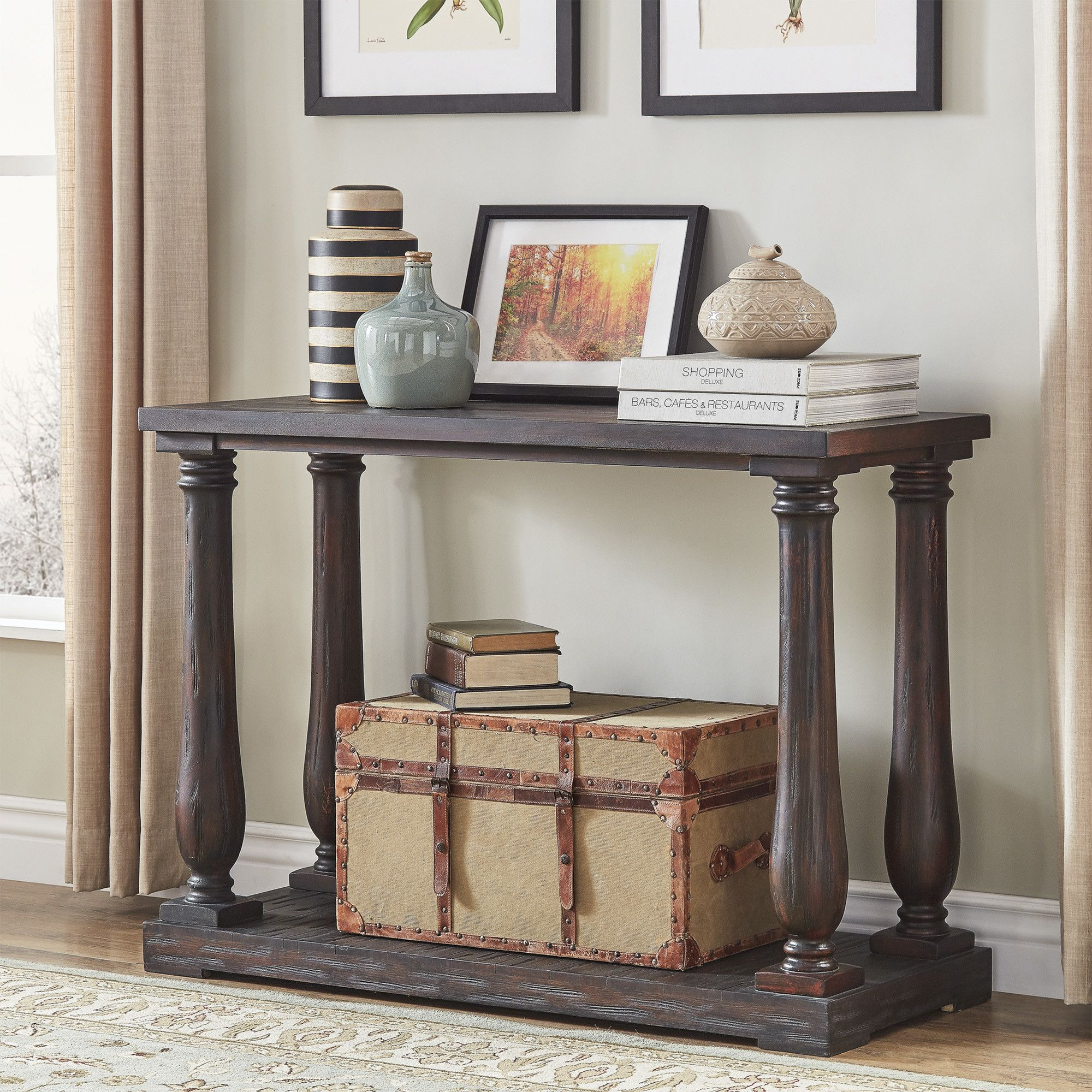 Canyon Console Table Farmhouse Console Table