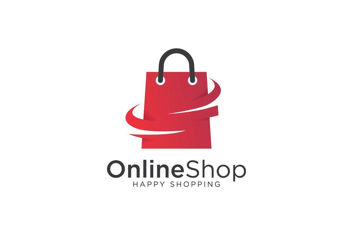Online Shop Logo Shop logo, Shop logo design, Logo templates