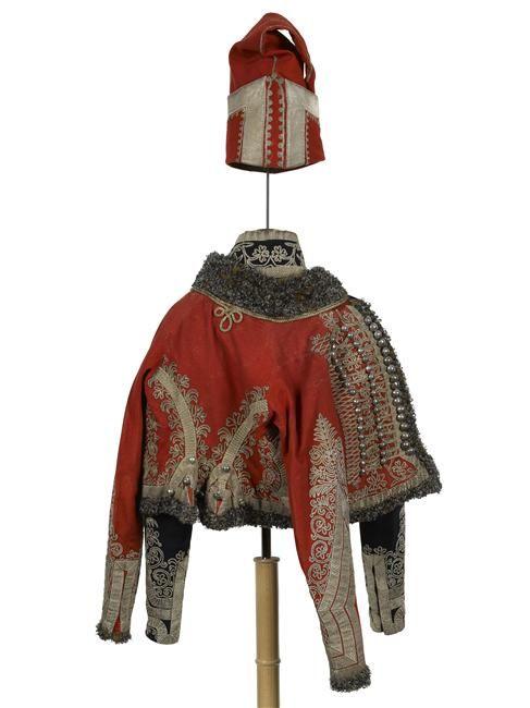 Original uniform of Prince de Salm-Kyrburg, ADC of Napoleon, 1806.