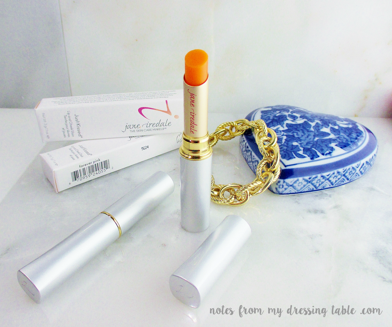 Jane Iredale Just Kissed Lip and Cheek Stains Lips