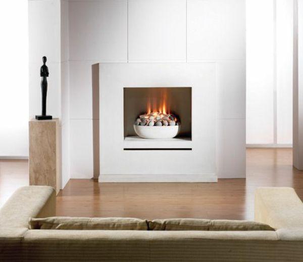 Originelles Modernes Design Kamin Dekoration