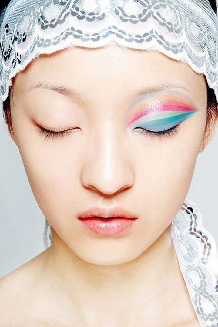 model:sky, great make up art