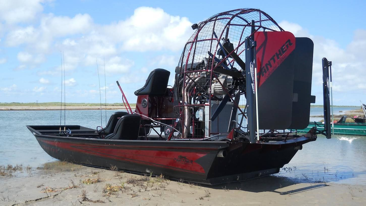 Panther Airboats Airboat Boat Water Crafts