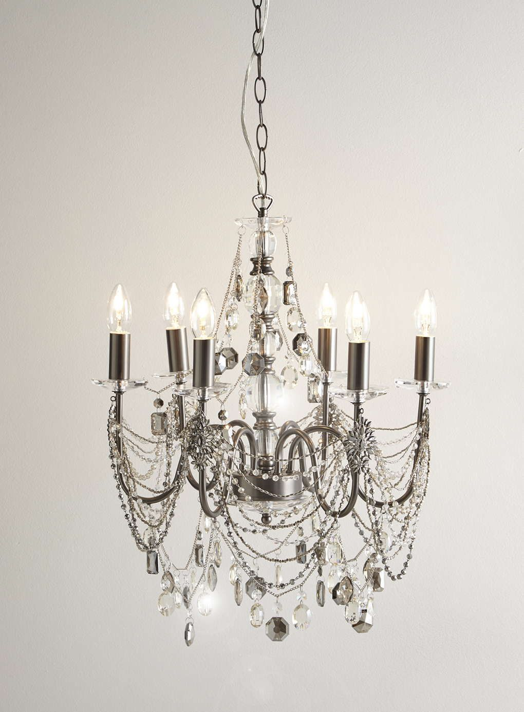 Bathroom Chandeliers Bhs photo 2 of smoke everly black chandelier | lighting | pinterest