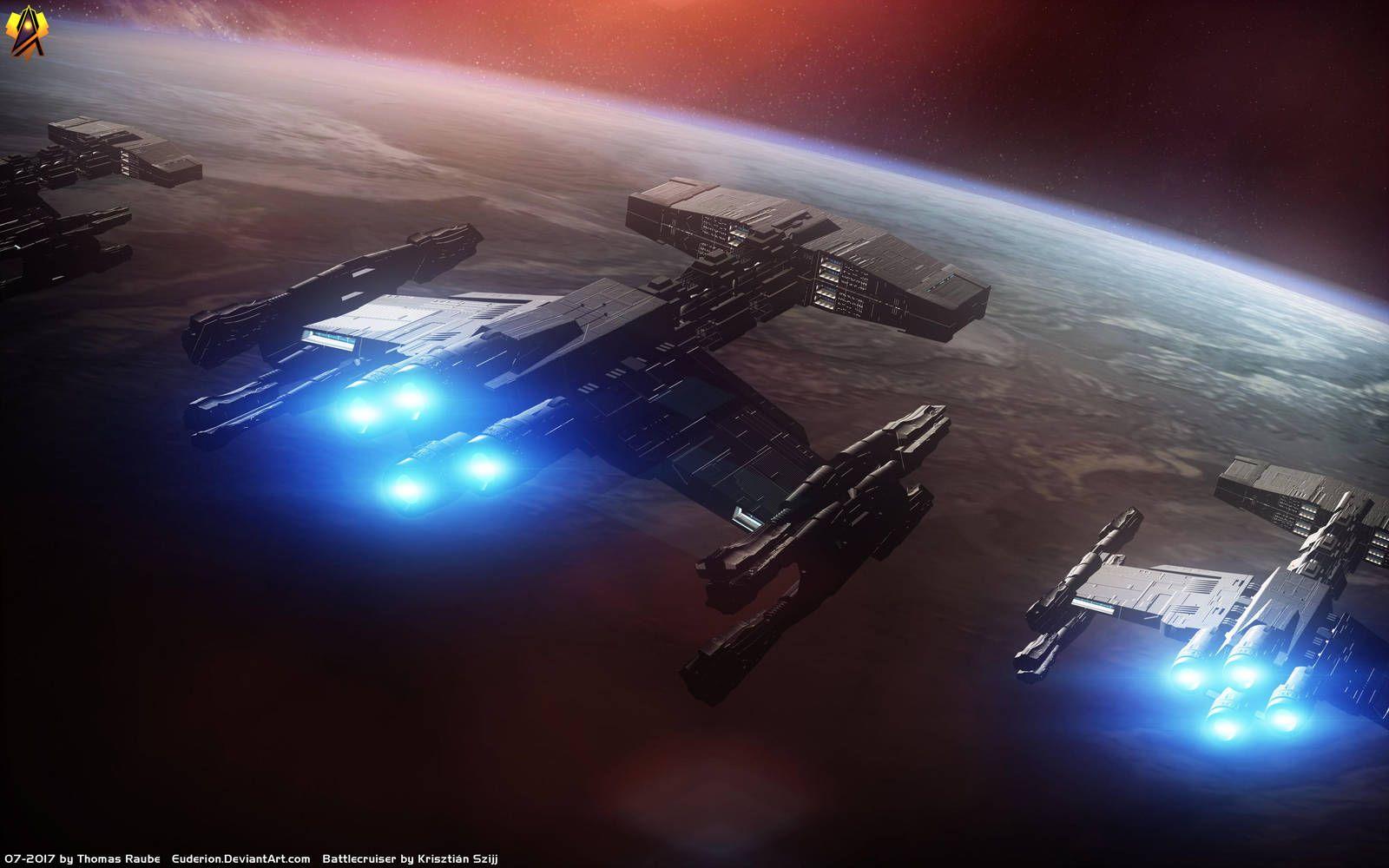 Starcraft Terran Battlecruisers by Euderion   Trekish in 2019