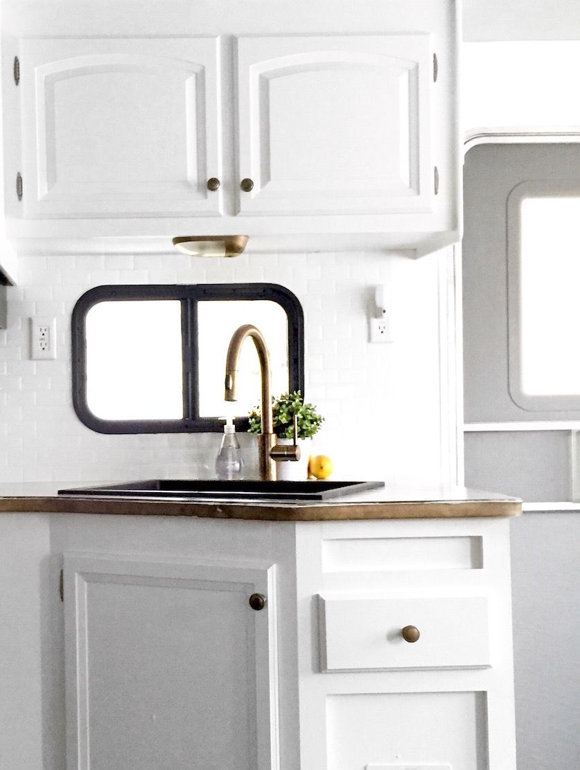 RV Kitchen Upgrades | Airstream remodel, Airstream and Rv