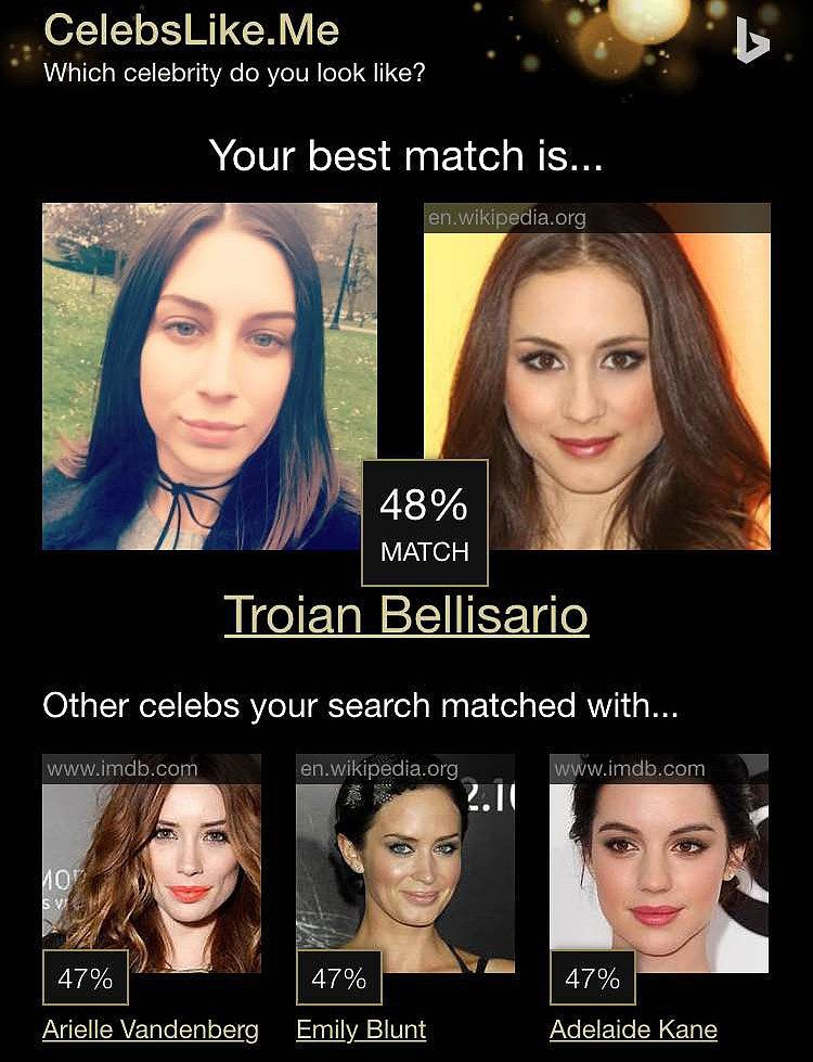 This Website Will Tell You Your Celebrity Look Alike And The Results Are Interesting Celebrity Look Alike Celebrity Look Look Alike