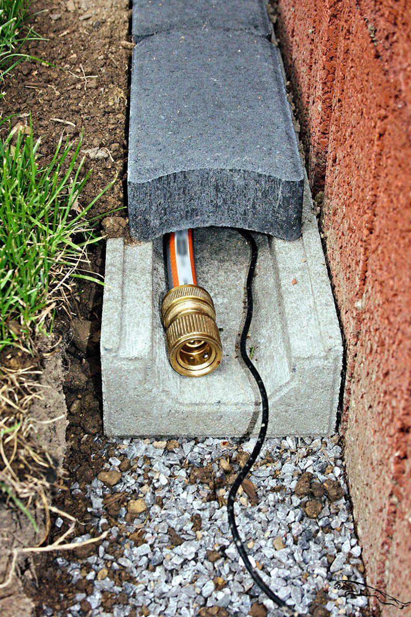 Photo of Cable hose duct – Christoph Betonwaren #garden #betonwaren #christoph #gar …