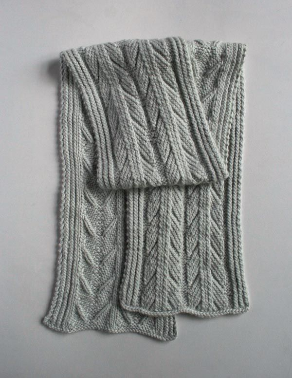 Ancient Stitch Scarf US 11 Needles | Proyectos que intentar ...