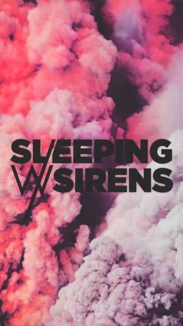 band, pink, and sleeping with sirens image