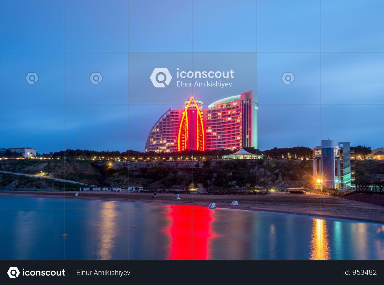 Premium Jumeirah Hotel In Baku Azerbai Photo Download In Png Jpg Format Hotel Baku Hotels Photo