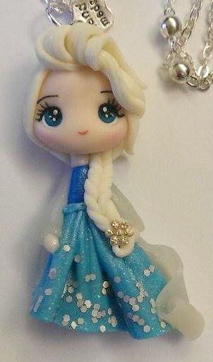 Mini Elsa de Frozen .-