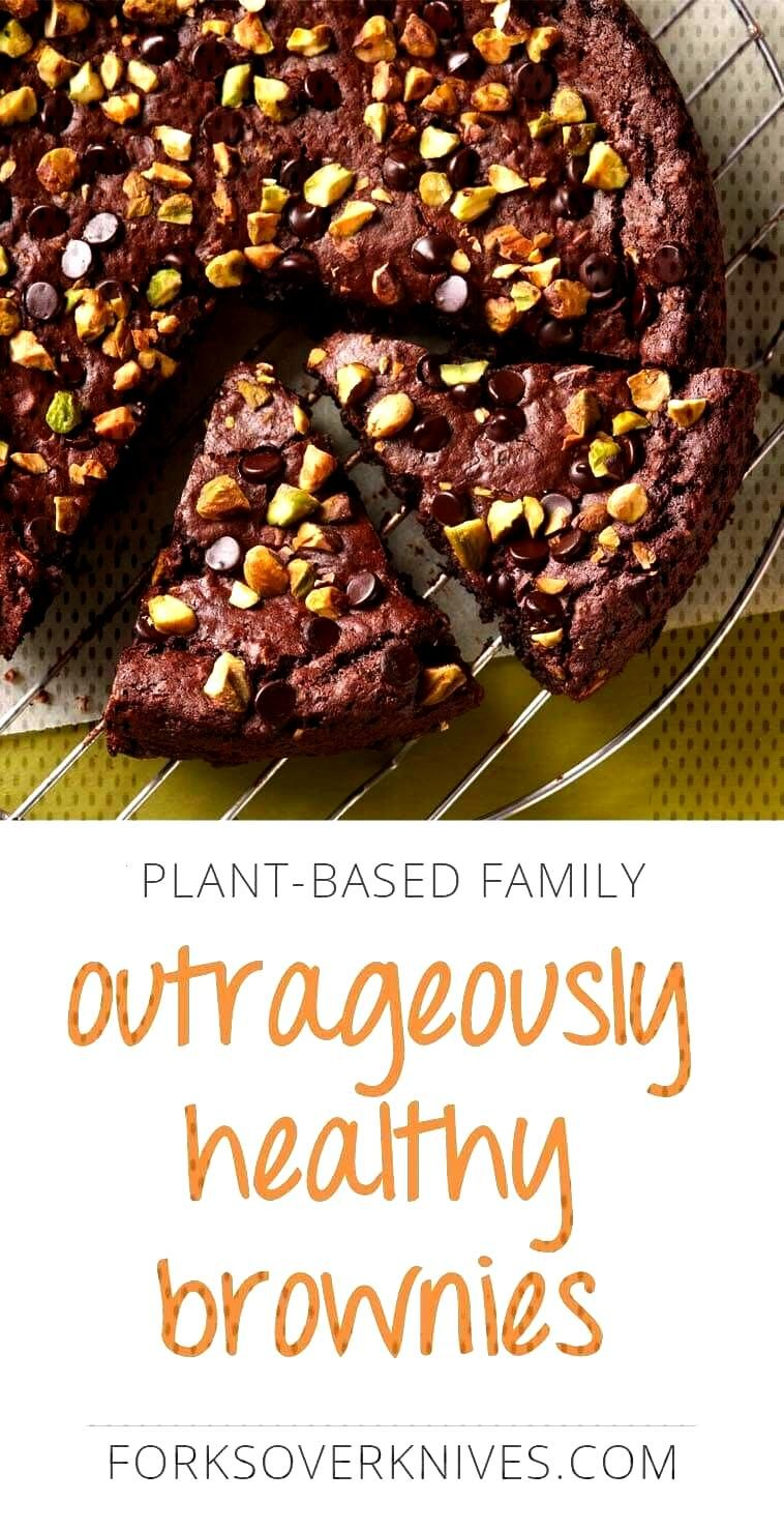 Healthy Vegan Brownies | Plant-Based Vegan Recipe -
