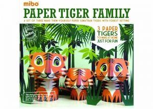 Paper Toys Mibo - Famille Tigre 9.03�
