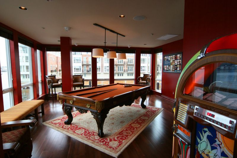 20 Awesome Pool Table Lighting images