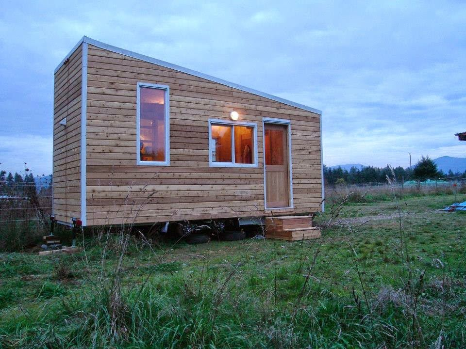 Some preliminary considerations if building a tiny home with all natural materials:   1. Choosing Plans     my house   There are not  a lot ...
