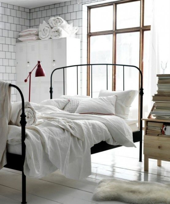 27 modern industrial bedroom design inspirations | industrial