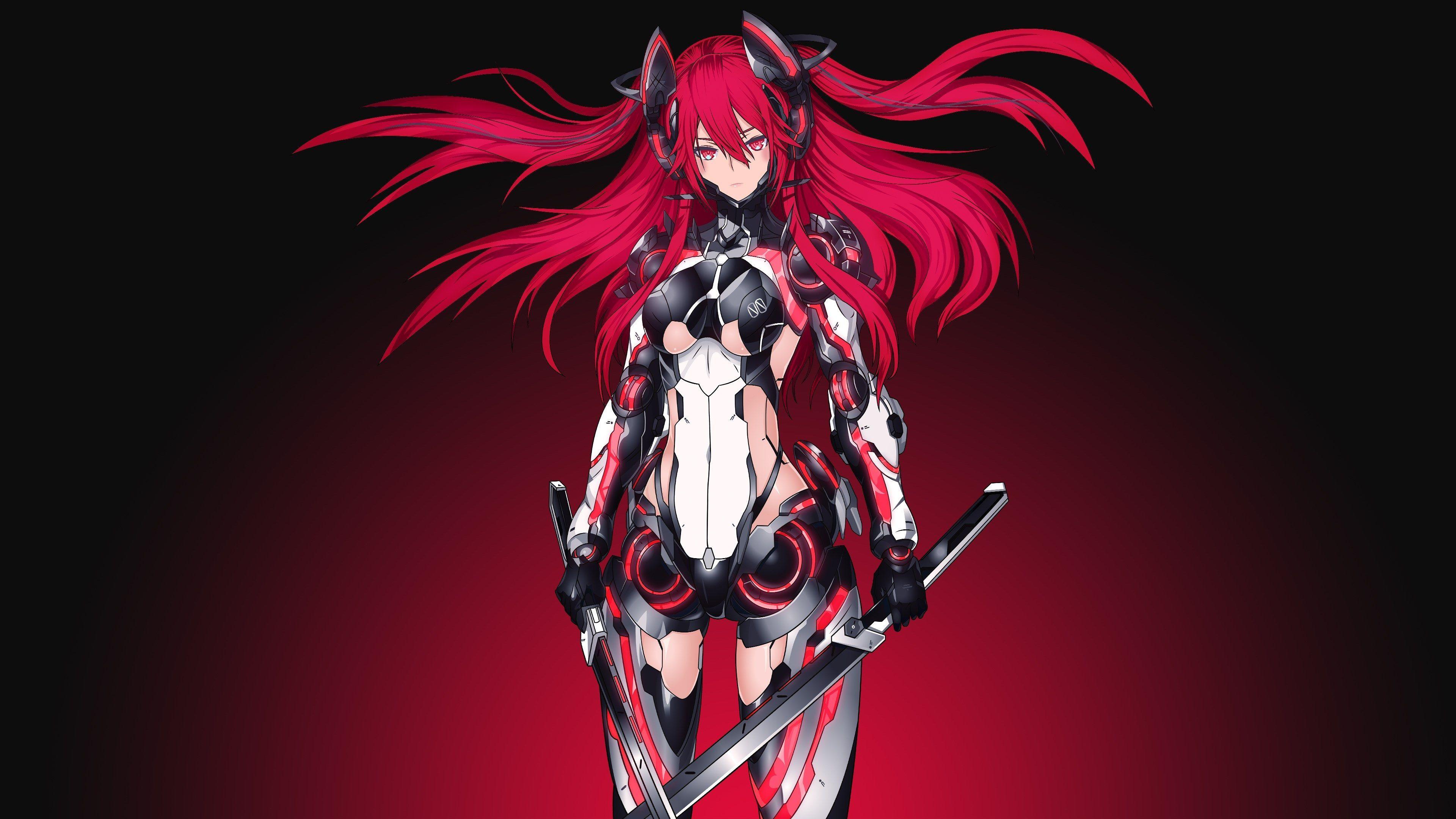 3840x2160 Mecha Girl 4k Pc Wallpaper Download Anime Wallpaper Cool Anime Wallpapers Hd Anime Wallpapers