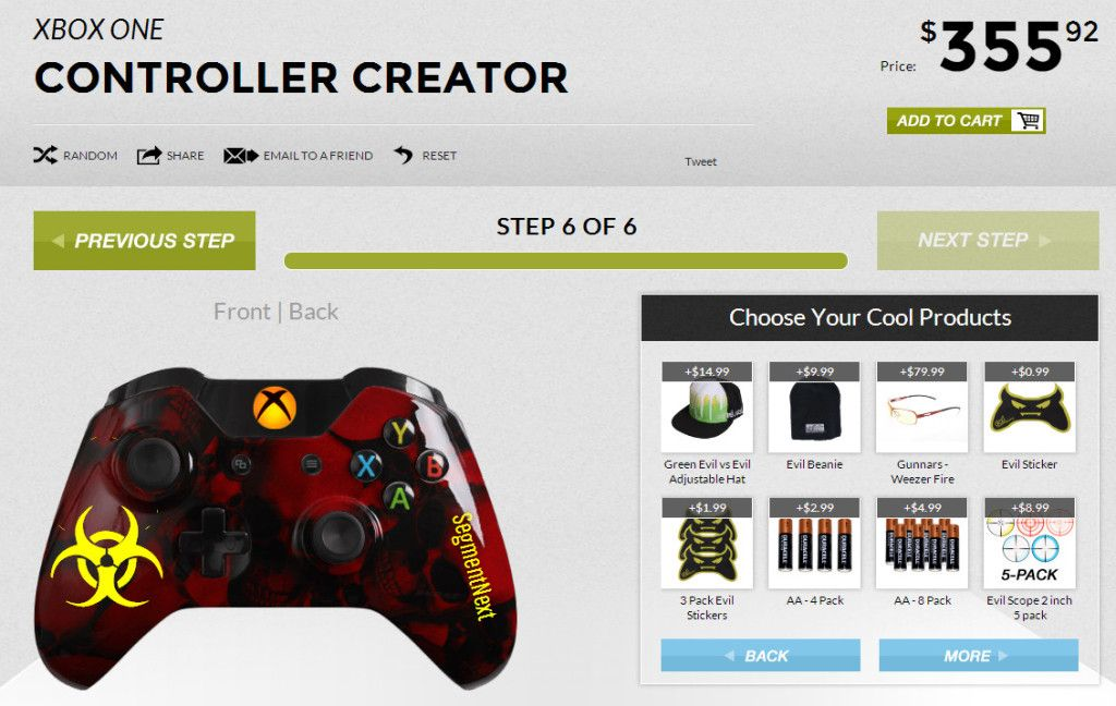 Evil Controllers Master Mod v3 For Xbox One Lets You Shoot With $200-$300 Controller  http://segmentnext.com/2014/01/28/evil-controllers-master-mod-v3-xbox-one-lets-shoot-200-300-controller/