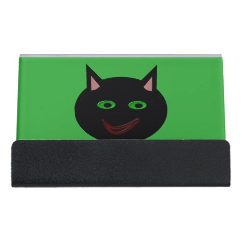 Halloween black cat business card holder pinterest halloween halloween black cat business card holder colourmoves