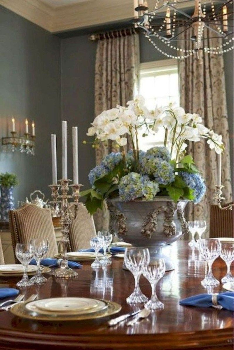 Gorgeous French Country Living Room Decor Ideas 35 Dining Room Table Centerpieces