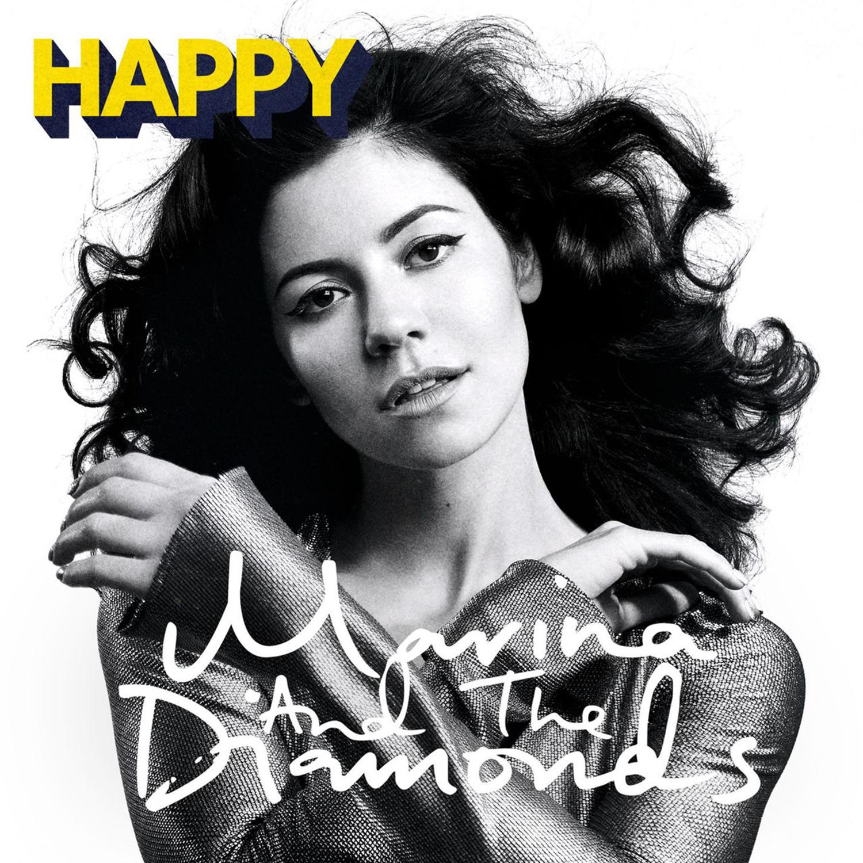 Marina And The Diamonds Happy Song Cover Marina And The Diamonds Marina And The Diamons Single And Happy