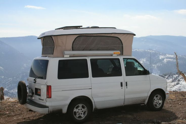 Colorado Camper Van Chevy Astro Poptop Van Pinterest
