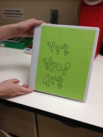 Vet Wrap Art Book Vet Clinics Vets Compassion Fatigue