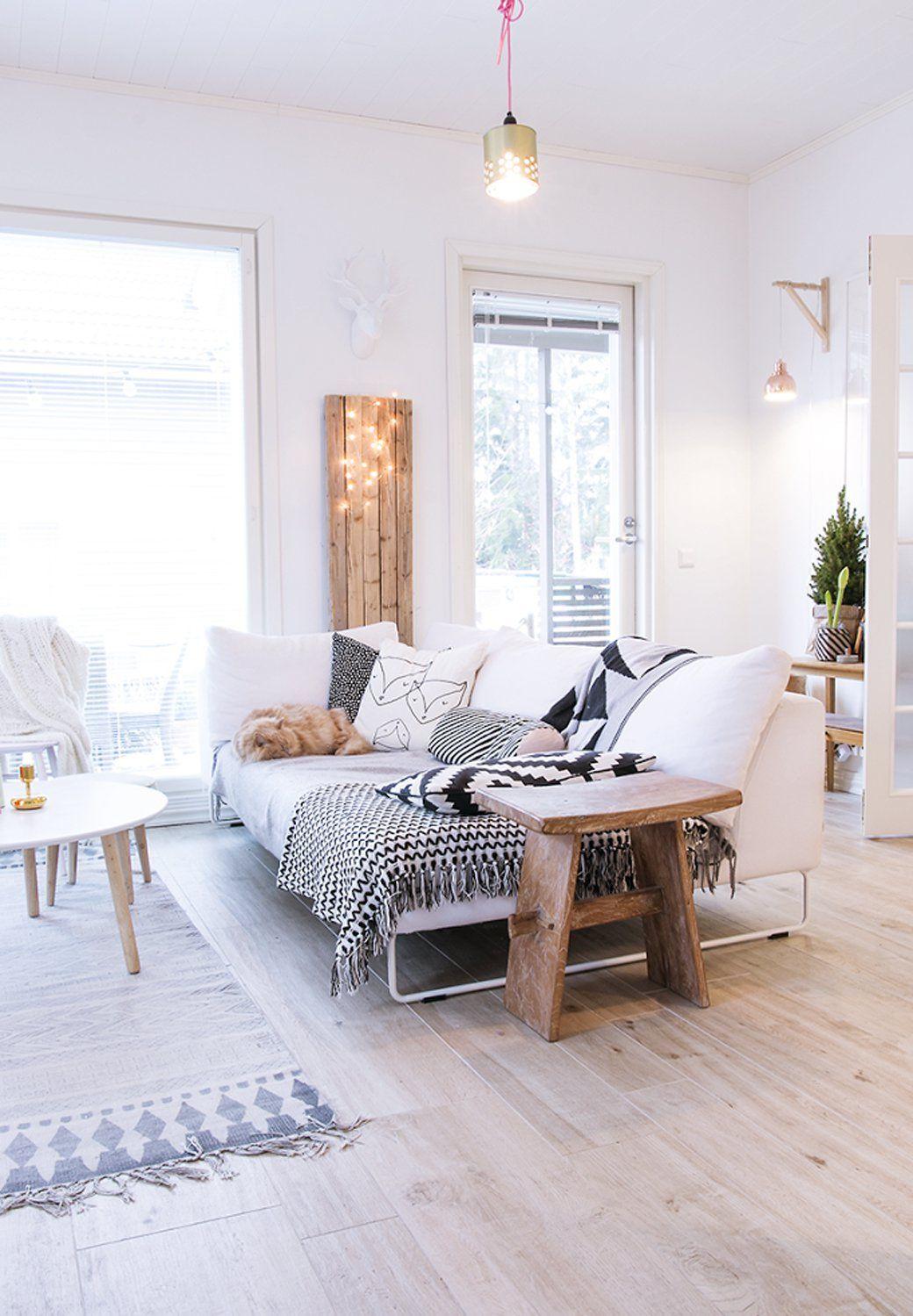 wohnzimmer gemütlich einrichten pinterest