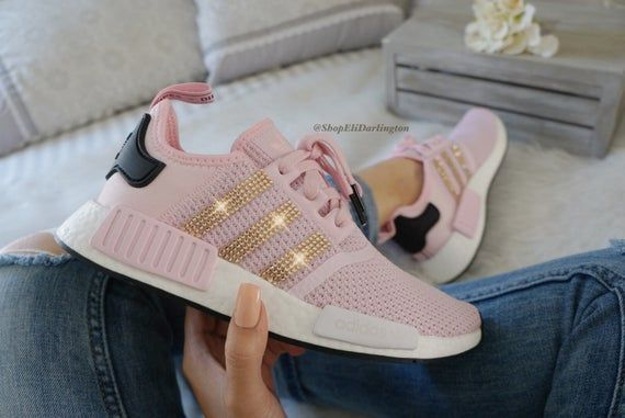 Women's Adidas NMD Shoes with Rose Gold
