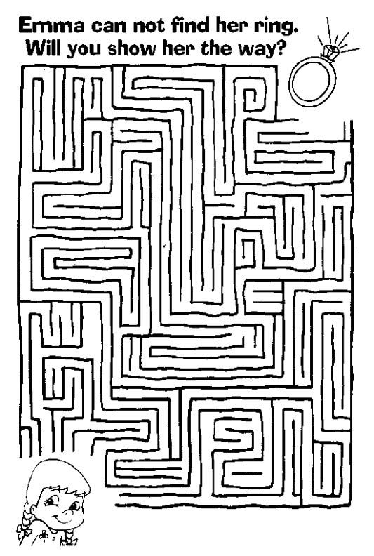 Complex Mazes Printable. free printable intricate coloring