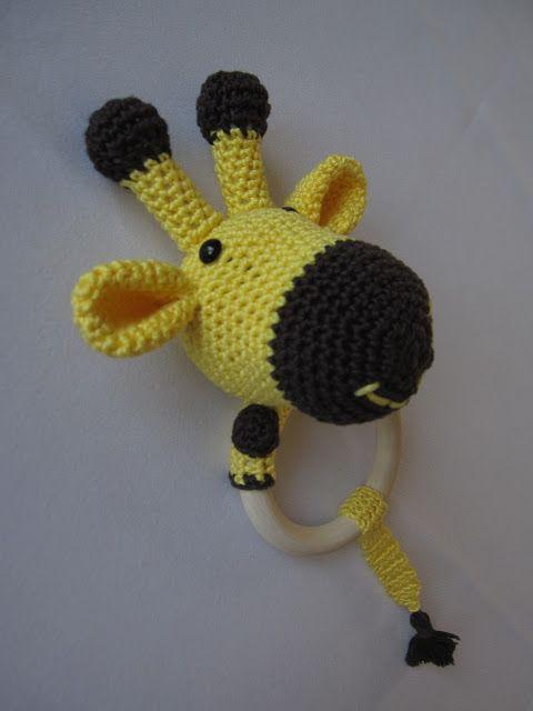 Diy Baby Rassel Beißring Giraffe Häkeln Crochet Rattle Giraffe