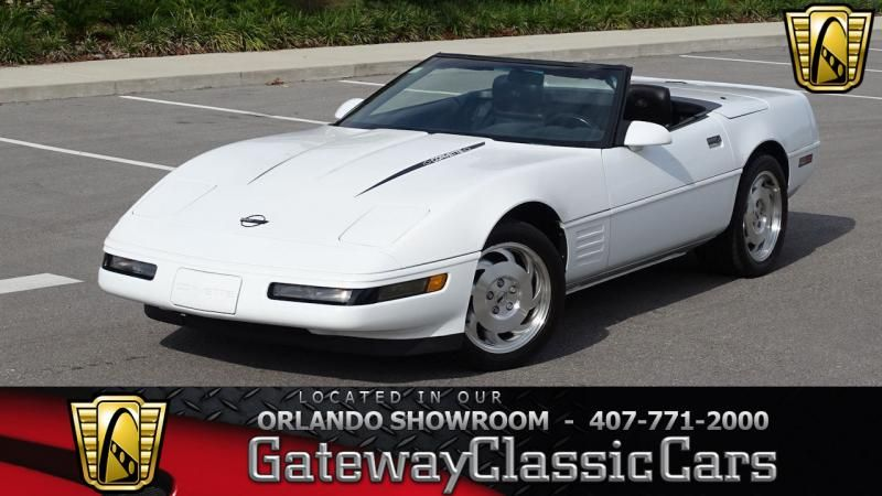 1993 Chevrolet Corvette 1320 Ord 1993 Corvette Convertible For