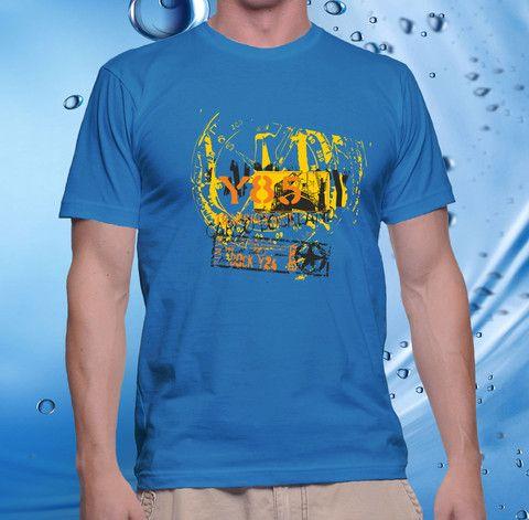 tshirt men, cotton combet gildan front custom Cargo Dockland Y85 (shap – CELLCUSTOMCASE