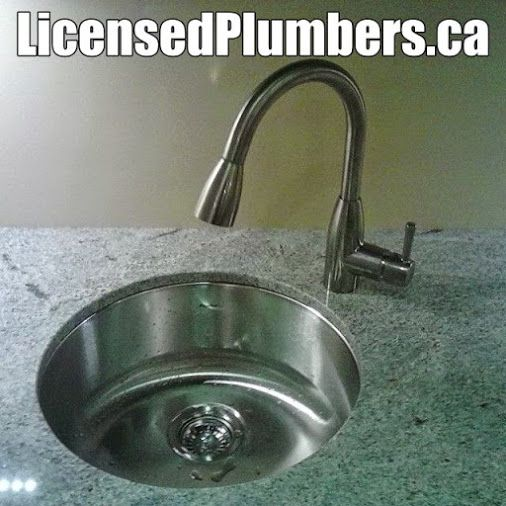 Elegant new bar sink with a new American Standard single handle ...