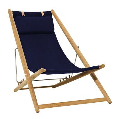 Skargaarden H55 Zero Gravity Chair Color: Dark Blue Sunbrella | Products |  Pinterest | Products