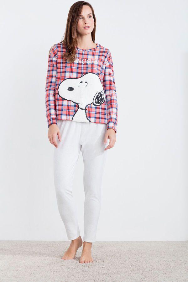 eb061c9ef Womensecret Snoopy long polar pyjama printed