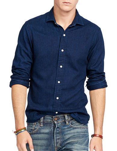 POLO RALPH LAUREN Polo Ralph Lauren Slim-Fit Twill Estate Shirt.  #poloralphlauren #cloth #