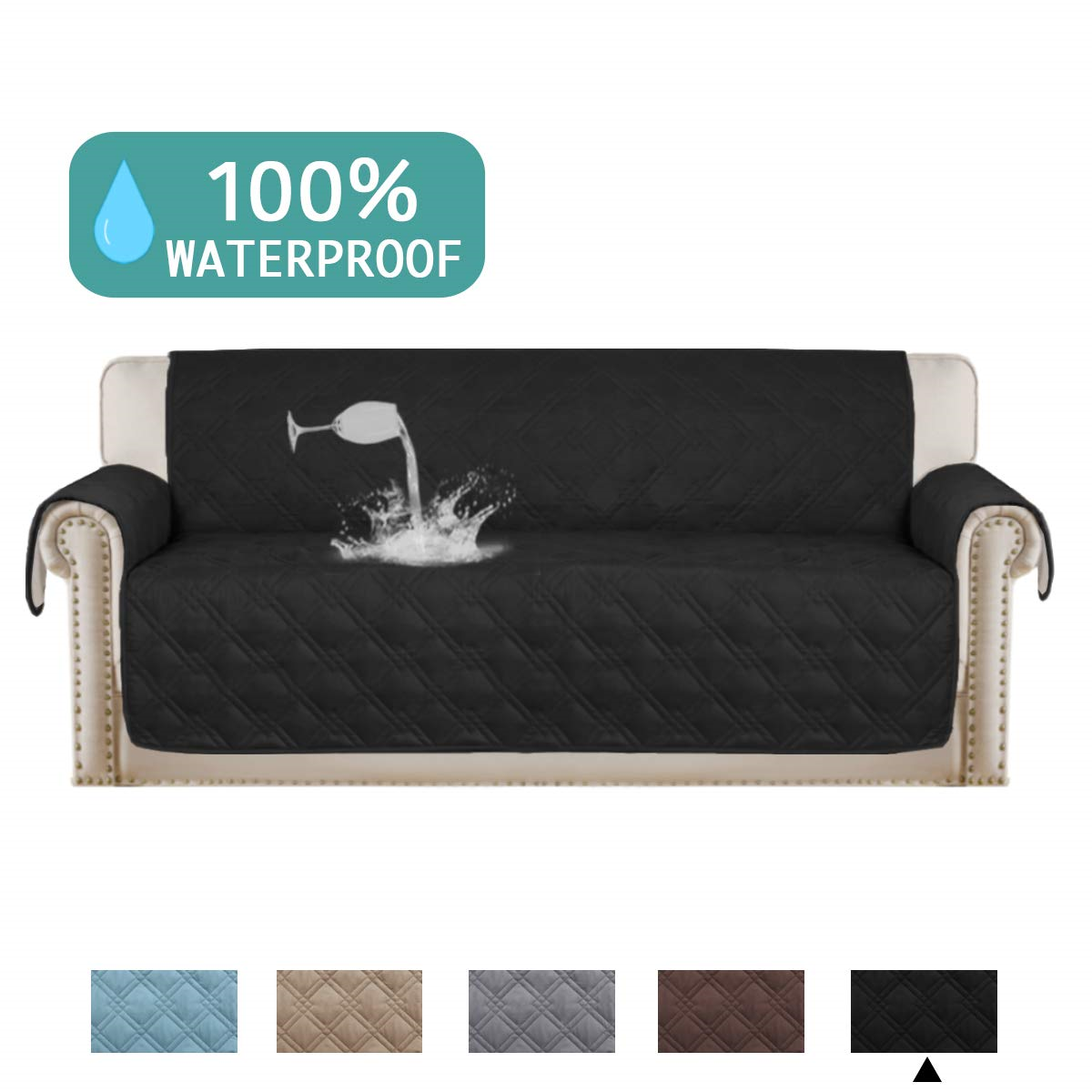 Turquoize 100 Waterproof Dog Couch Cover Quilted Sofa Slipcover Pet Couch Cover Kitchen Sofa Ideas Of Kitchen So With Images Kitchen Sofa Quilted Sofa Pet Couch Cover