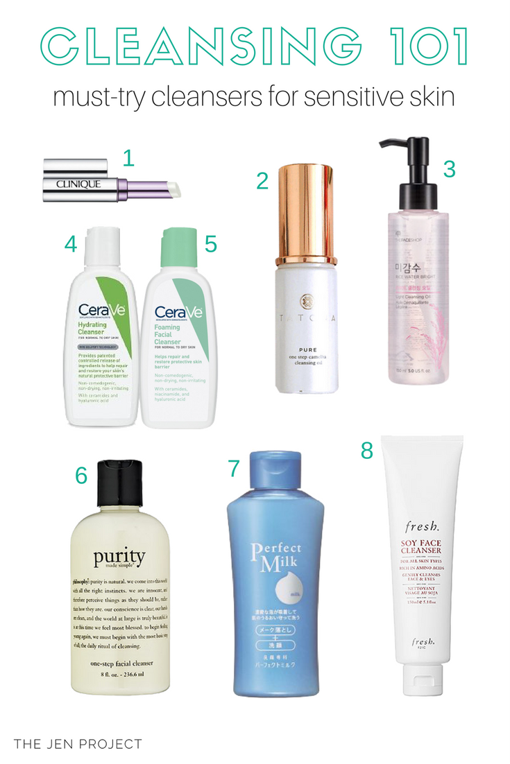 The Best Cleansers For Sensitive Acne Prone Skin Cleanser For Sensitive Skin Skin Acne Treatment Healthy Skin Cream