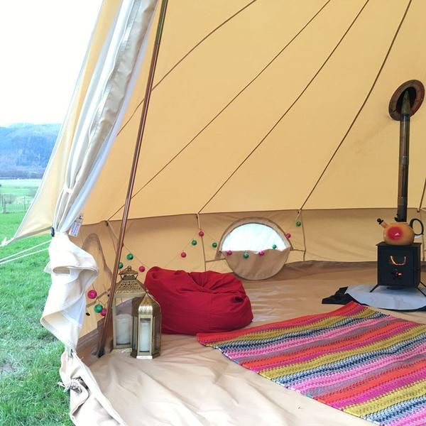 Pin by E B on California dreaming | Canvas bell tent, Tent ...