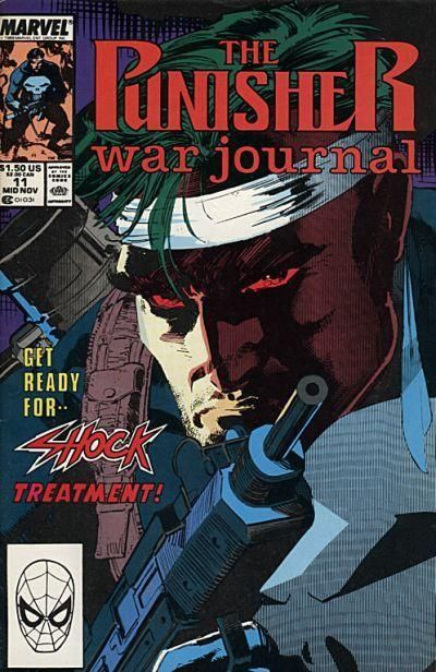 The Punisher War Journal Jim Lee art and cover. Auction ...