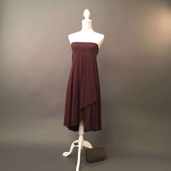 Chocolate Brown Strapless Dress In great condition. Really cute strapless  dress. Please check out my closet and bundle to save shipping. Susan Lawrence Dresses Strapless