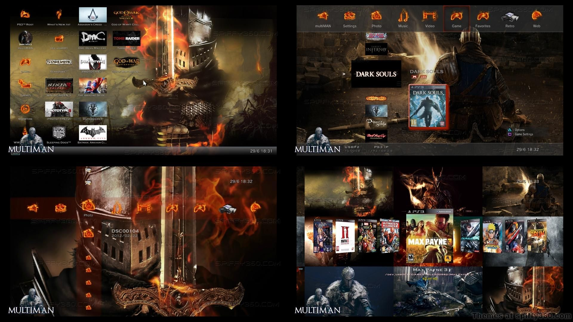 Playstation 3 Theme Depository - Themes for PS3 software and