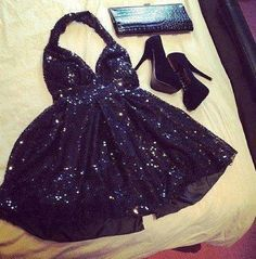 little black #sparkly dress