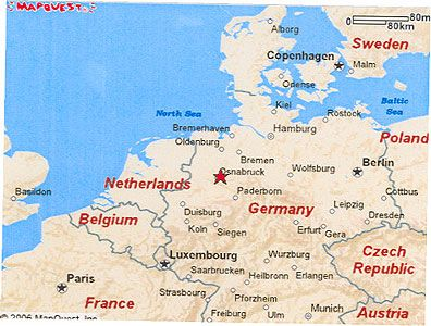Map Niedersachsen Oldenburg Germany Yahoo Image Search - Oldenburg map
