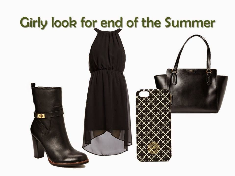 girly look for end of the Summer