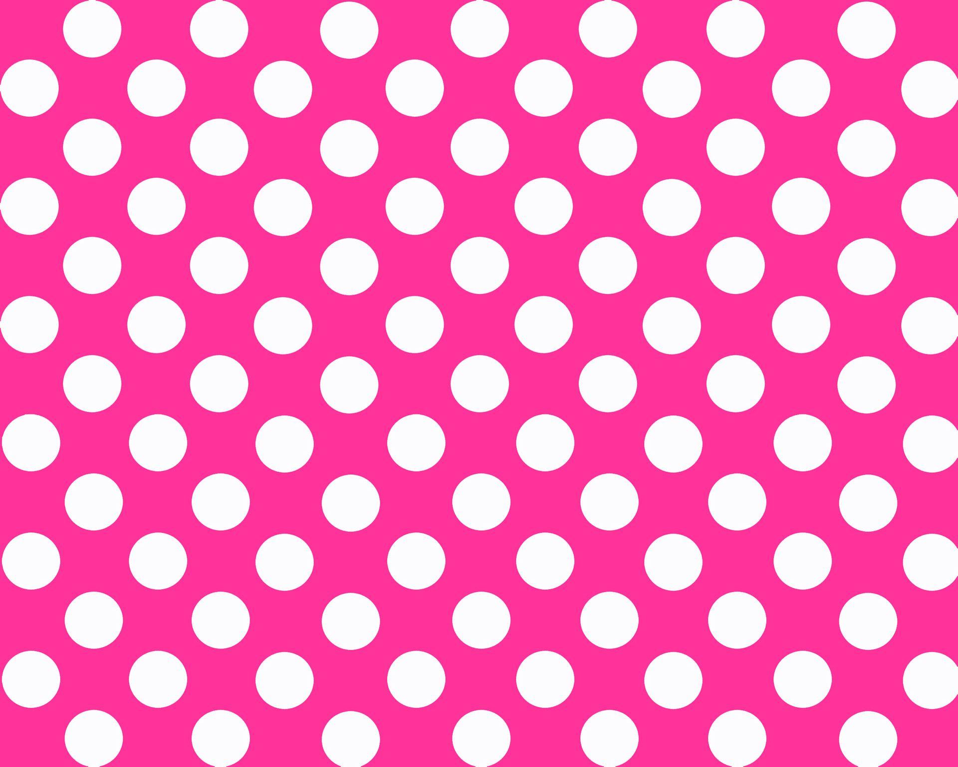 Pink Dots Hd Wallpapers Wallpaperzall Pink Polka Dots Background Polka Dot Background Polka Dots Wallpaper