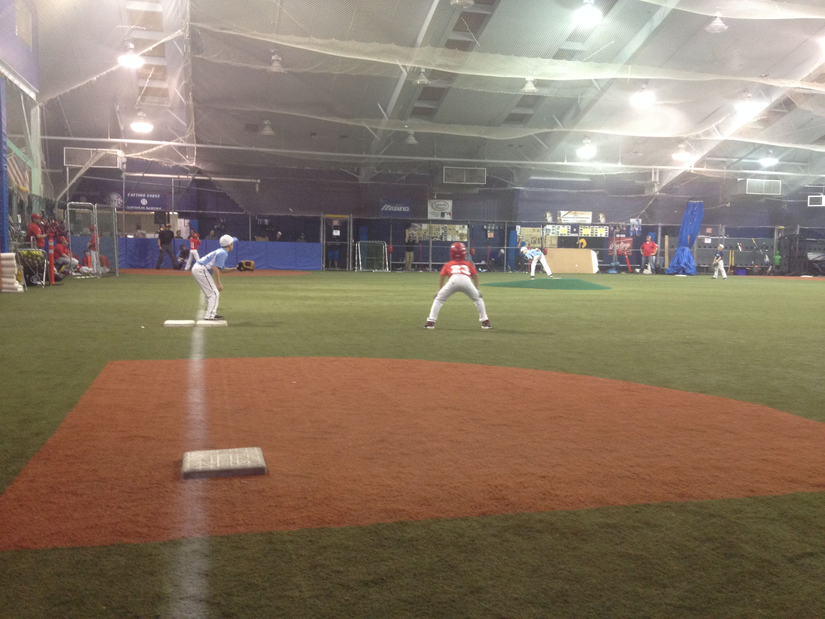 Having trouble finding a field? Our indoor stadium can