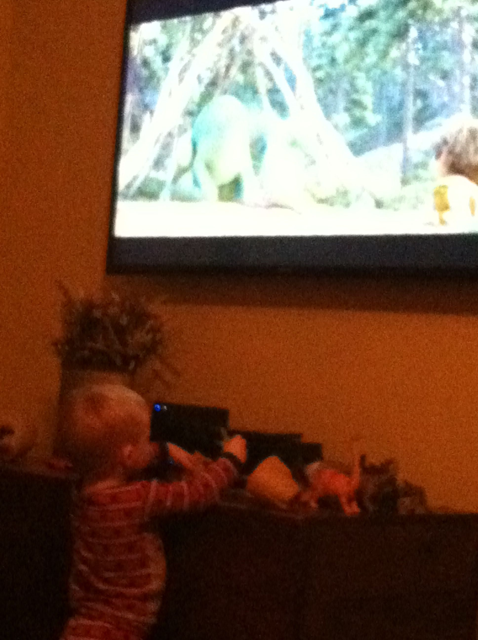 Happy birthday to Ryne and watching The Good Dinosaur!!